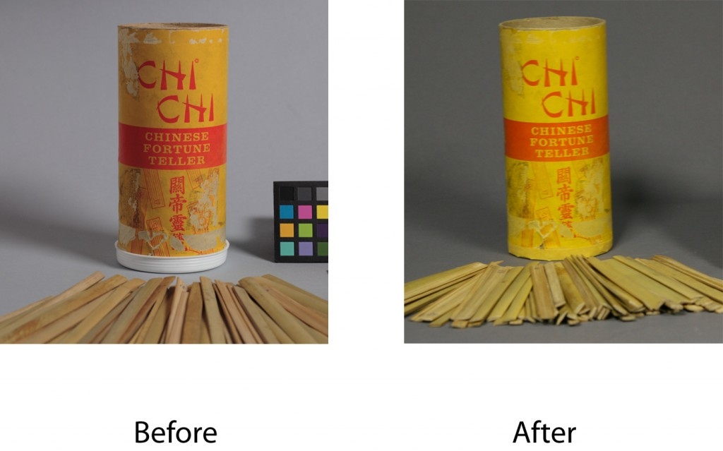 Repair and conservation of Chi Chi fortune telling toy