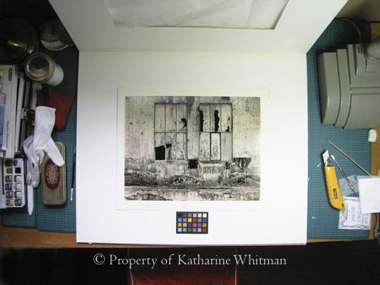 photo conservation desk